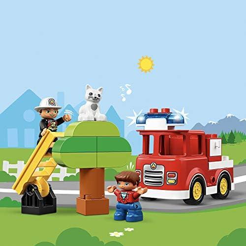 LEGO 10901 DUPLO Feuerwehrauto mit Feuerwehrmann