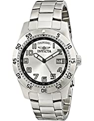 Invicta Mens 5249S Pro Diver Stainless Steel Silver Dial Watch