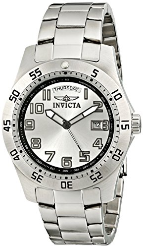 Invicta Men's 5249S Pro Diver Stainless Steel Silver Dial Watch ()