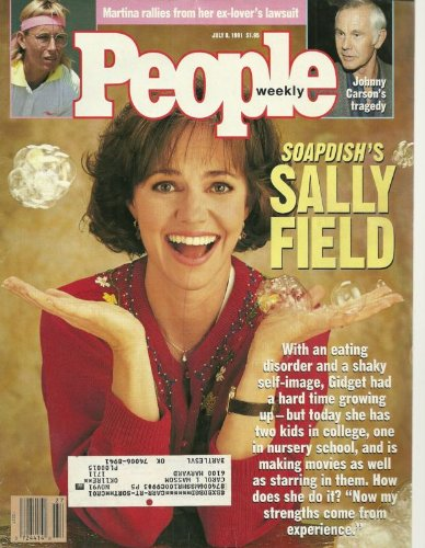 People Weekly (SALLY FIELD...Soapdish..Gidget, July 8 , 1991)