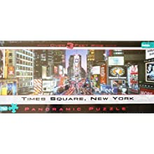 PANORAMIC PUZZLE Times Square, New York 750 Piece Over 3 Feet Wide
