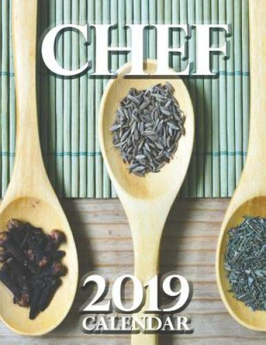 Chef 2019 Calendar by Wall Publishing