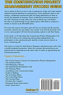 The Construction Project Management Success Guide