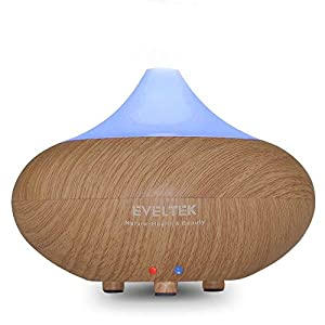 Amazon.com: Essential Oil Diffuser,EVELTEK Wood Grain Cool