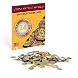 Coins of the World - 24 Coins from All Over the World - Zaioo World Coins Collector Edition
