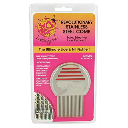 Lice Stainless Steel Comb 1 Count