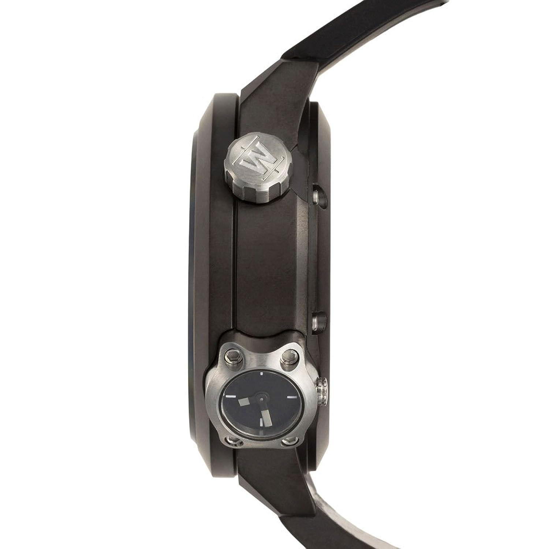 Welder by U-Boat K32 Oversize Triple Time Zone Black Ion-Plated Steel Mens Watch K32-9202