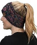 HW-6033-816.0641 Headwrap - Black/Kaleidoscope (4T#32)