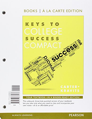 Keys to College Success Compact, Student Value Edition Plus NEW MyLab Student Success -- Access Card Package (Sarah Range)