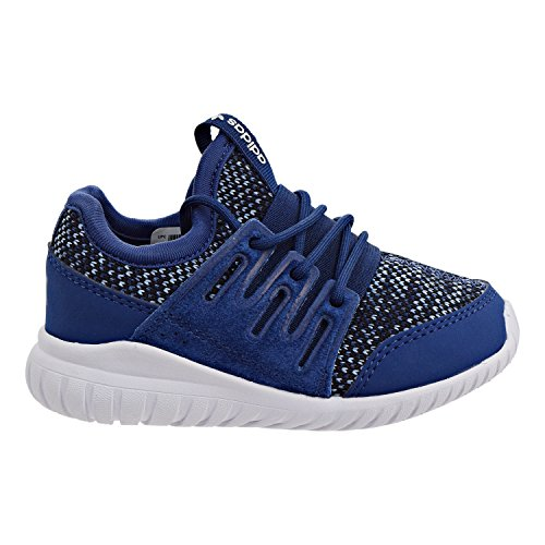 watch b737d e27e4 Galleon - Adidas Originals Boys  Tubular Radial I Running Shoe, Mystery  Tactile Blue Black, 10 M US Toddler