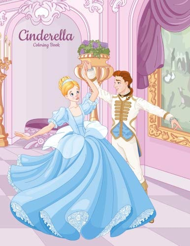 - Cinderella Coloring Book 1 (Volume 1)