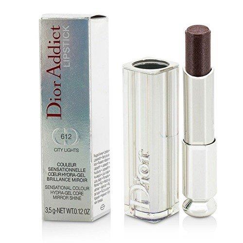 Dior Addict Shine - Christian Dior Addict Lipstick, No. 612 City Lights, 0.12 Ounce