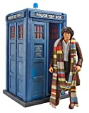 Doctor Who The Fourth Dr and Tardis from Shada - Collector Figure Set