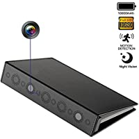 DareTang 1080P Hidden Spy Book Camera Motion Detection Night Vision Hidden Nanny Cam Home Surveillance and Security Camera