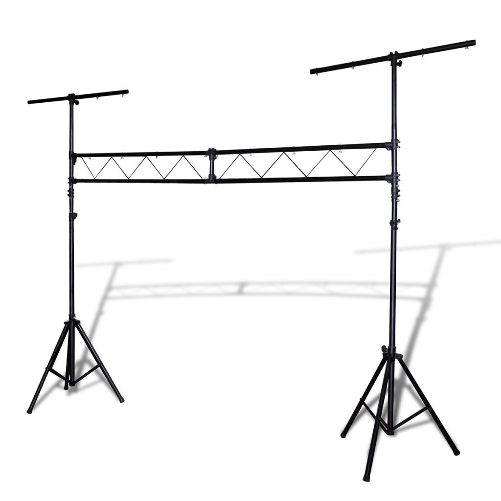 Festnight Portable Lighting Truss System with 2 Tripods