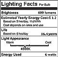 SooFoo Vintage Light Bulb 6w Edison Led Bulb Soft White 2700K,E27 Base Edison Bulb Dimmable-Pack of 4