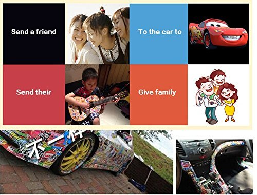 2f89cbc0fe17 Love Sticker Pack 100-Pcs Sticker Decals Vinyls for  Laptop,Kids,Cars,Motorcycle,Bicycle,Skateboard Luggage,Bumper Stickers  Hippie Decals Bomb ...