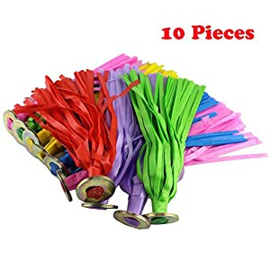 Kick Shuttlecock,10 Pack Shuttlecock Chinese Sack Shuttlecock Kick Shuttlecock Badminton Bird Colorful Plastic Chinese Jianzi Kicking Shuttlecock Foot Exercise Outdoor Game Random Color