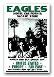 The Eagles Poster - Band 11 x 17 Hotel California World Tour -Don Henly Glenn Frey