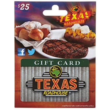 Texas Roadhouse Gift Card $25