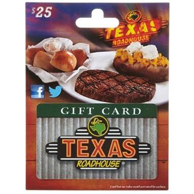 Texas Roadhouse Gift Card $25