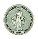 Our Lady of Grace Miraculous Medal Pocket Token