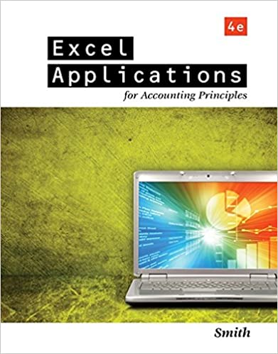 Excel Applications for Accounting Principles