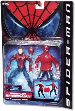 Amazon Com Spider Man Movie Series 3 Wrestler Spider Man Toys Games