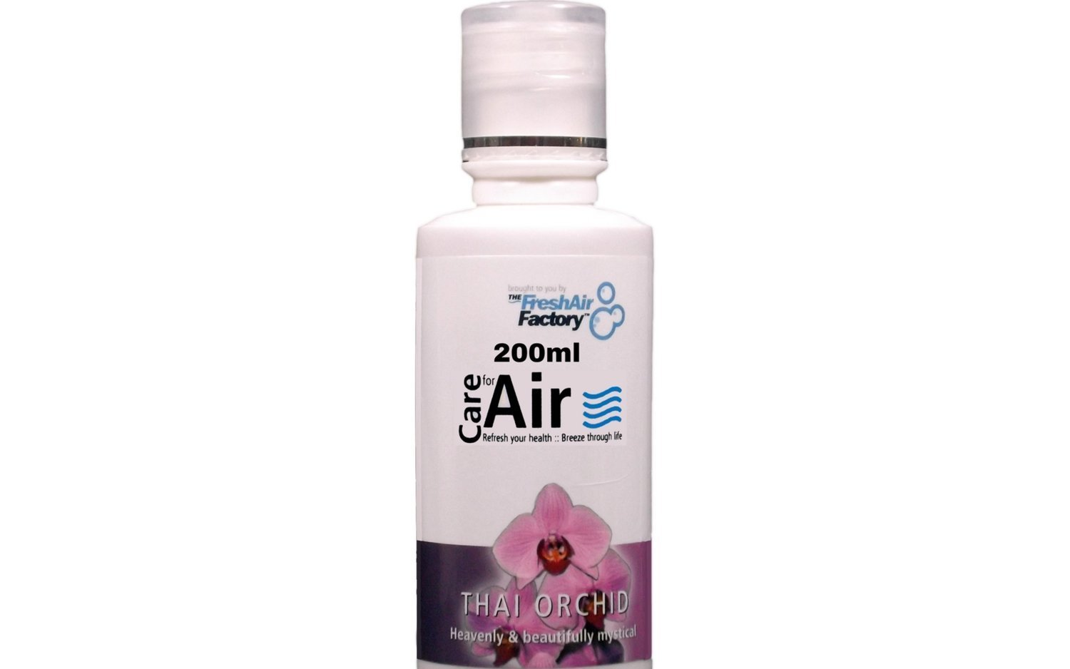 AIR PURIFIER FRAGRANCE FOR HOME - CareforAir Thai Orchid Fresh Floral Scent 200ml - USE IN REVITALIZERS, IONIZERS, HUMIDIFIERS - 100% Product Satisfaction Guarantee