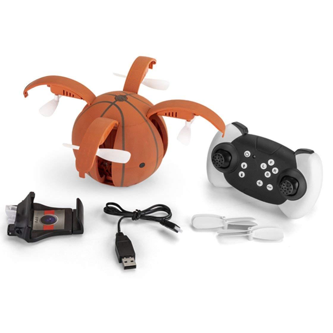 X45-1 RC Drohne Kamera 720 P 2,4 GHz WiFi FPV Faltbarer Basketball Flugzeug Höhenstand Headless Modus G-Sensor Quadcopter Flugzeuge