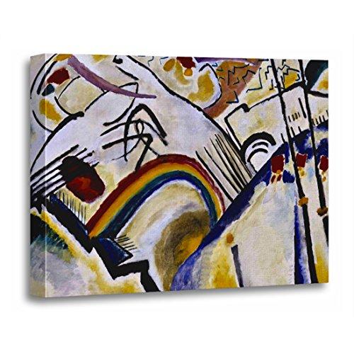 Wassily Kandinsky Artwork - TORASS Canvas Wall Art Print Wassily Kandinsky Cossacks Russian Abstract Expressionism Cubism Artwork for Home Decor 16