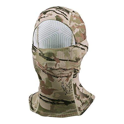 Under Armour Outdoor Coldgear Hood (Under Armour Men's Camo ColdGear Infrared Hood, Ridge Reaper Camo Ba/Desert Sand, One Size)