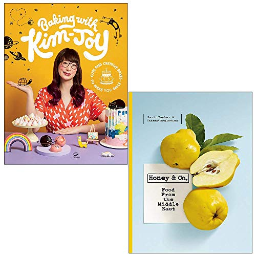Baking with Kim-Joy, Honey & Co Food from the Middle East 2 Books Collection Set