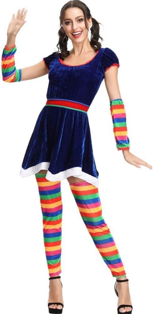 Conjuntos de disfraces de arcoiris para mujer Calcetines largos de ...