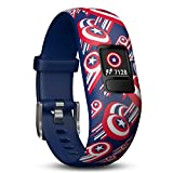 Garmin 010-01909-12 Vivofit Jr. 2-Adjustable Captain America Fitness GPS