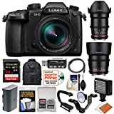 Panasonic Lumix DC-GH5 Wi-Fi 4K Digital Camera & 12-60mm f/2.8-4.0 + 35mm & 85mm T/1.5 Lenses + 64GB Card + Backpack + Flash + Video Light + Battery Kit Review