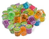 Kidsco Mini Putty with Glitter - 48 Pack Assorted Colors - Container 1 1/4' Inch - for Kids Boys and...