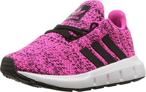 adidas Originals Kids Baby Girl's Swift Run INF (Toddler) Shock Pink/Black 7 M US Toddler