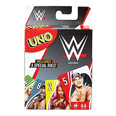 Superstars UNO Card Game Multi: Toys & Games