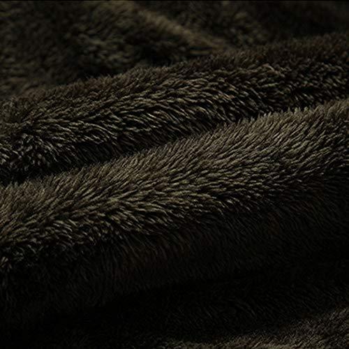 Cuoio Cuoio Cuoio Calda Tasca Nverno Giacca Alto Elegante Army Army Army Army di del Autunno Uomo di Termico Rivestimento da NIUQY Giacca Collo Casuale Superiore Termico Green aYdw6x