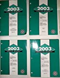 2003 Service Manual, Chevrolet Tahoe, Suburban, Avalanche. GMC Yukon, Xl, Denali, Denali Xl. Cadillac Escalade/ Esv/ Ext. Four Volume Set.