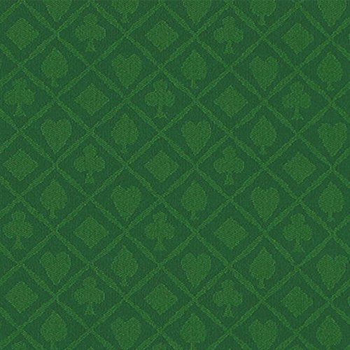 10 Foot Section of Green Cotton Speed Cloth. Great for Any Poker Table Build! ()