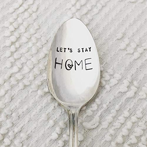 Let's Stay Home Spoon
