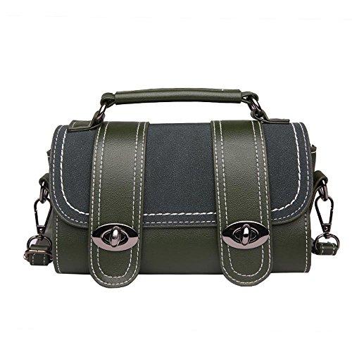 Aoligei Mini Chao Vintage Boston Pack coréen mode pour cent croix diagonale seule épaule A