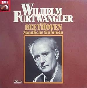 Wilhelm Furtwängler dirigiert Beethoven: Sämtliche Sinfonien [Vinyl Schallplatte] [8 LP Box-Set]