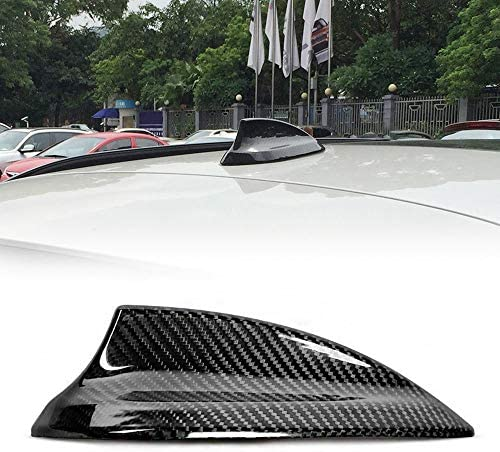 SENLINSQ 車のふかひれアンテナアンテナカバー、BMW F22 F23 F30 F35 F34 F32 F33 F36 F87 F80 F82 G30 G38 G11 G12黒アンテナステッカー