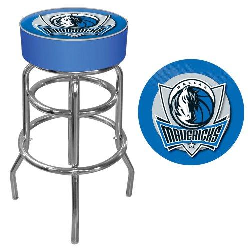 NBA Dallas Mavericks Padded Swivel Bar Stool