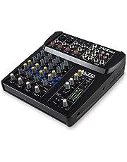 Alto Professional ZMX122FX | Mezclador compacto de 8 canales de 2 bus con 16 entradas y 256 efectos a bordo