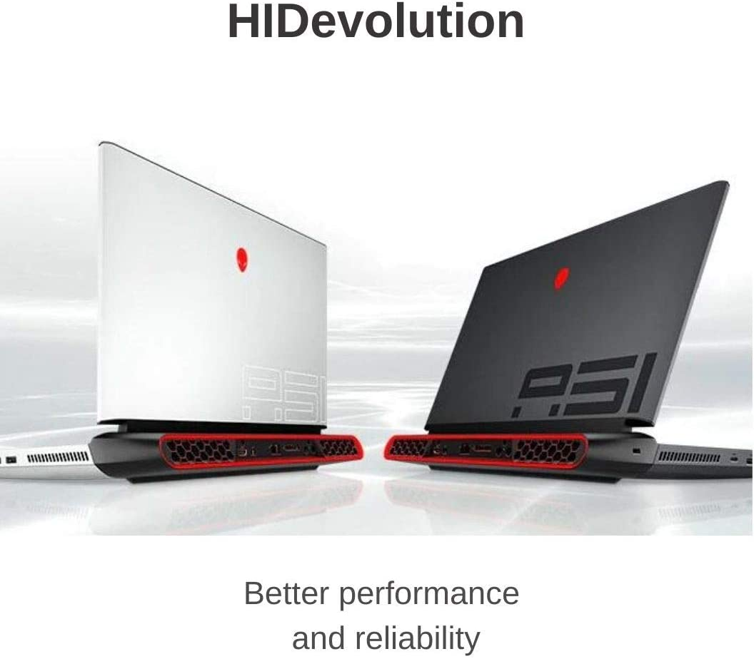 "HIDevolution Alienware Area-51M 17.3"" FHD 144Hz, White, 3.0 GHz i7-9700, GTX 1660 Ti, 32GB 2666MHz RAM, 4TB PCIe SSD + 1TB SSHD"