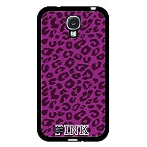 Hot Design Victoria's Secret Phone Case Cover For Samsung Galaxy s4 i9500 Pink Luxury Pattern